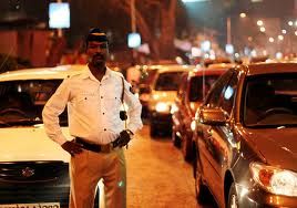 A usual Indian Traffic Cop