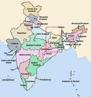 Location Of Ranchi In India Map.Poora State Ko Gaanv Bana Diya Merry Musings