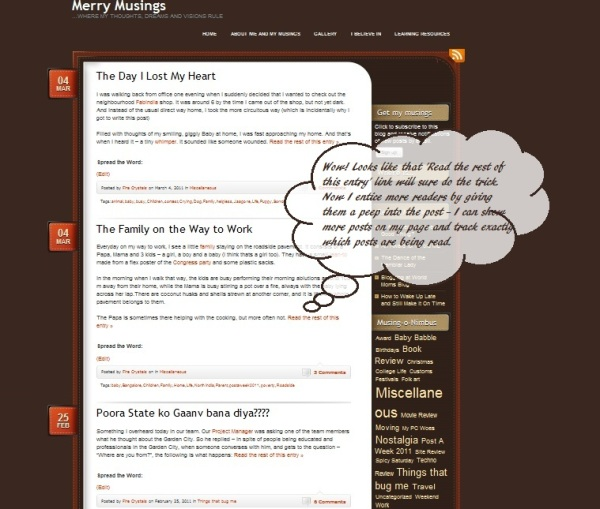 how to know number of posts on wordpress blog