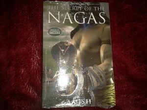 The Secret of the Nagas - Front Cover