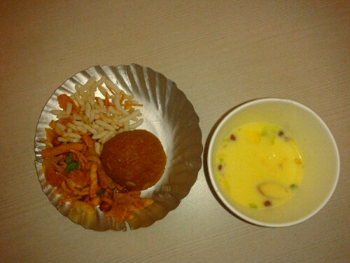 Sweets after Puja
