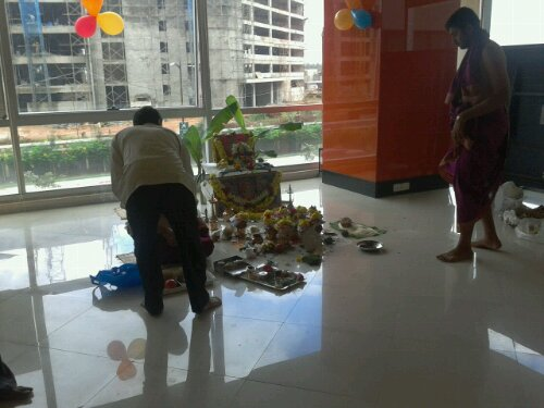 Prep for Puja